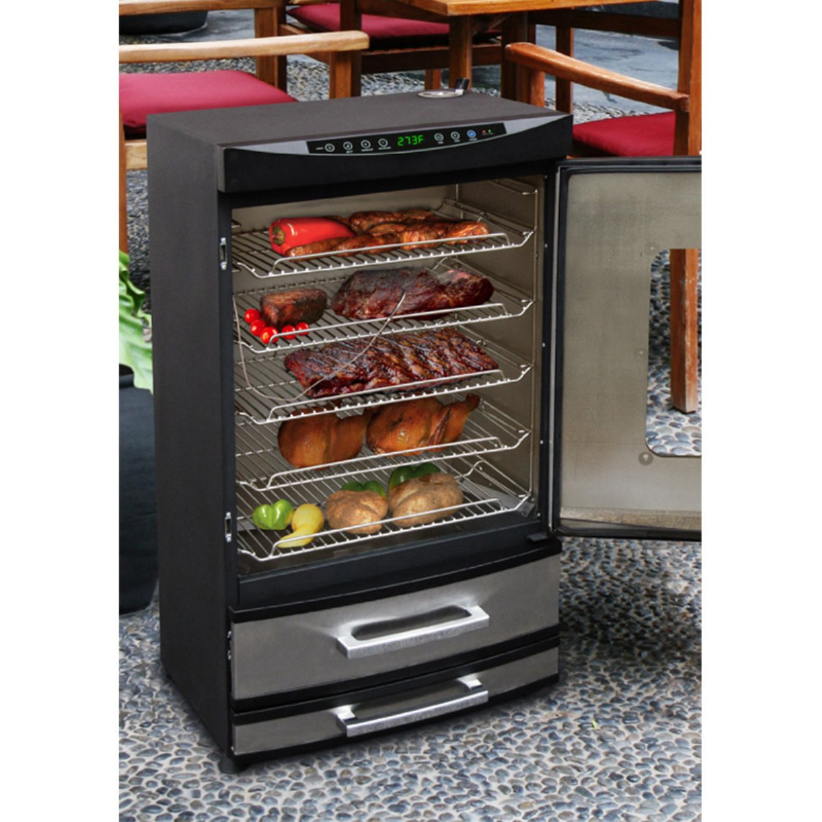 32 Quot Electric Smoker Meat Smoker House